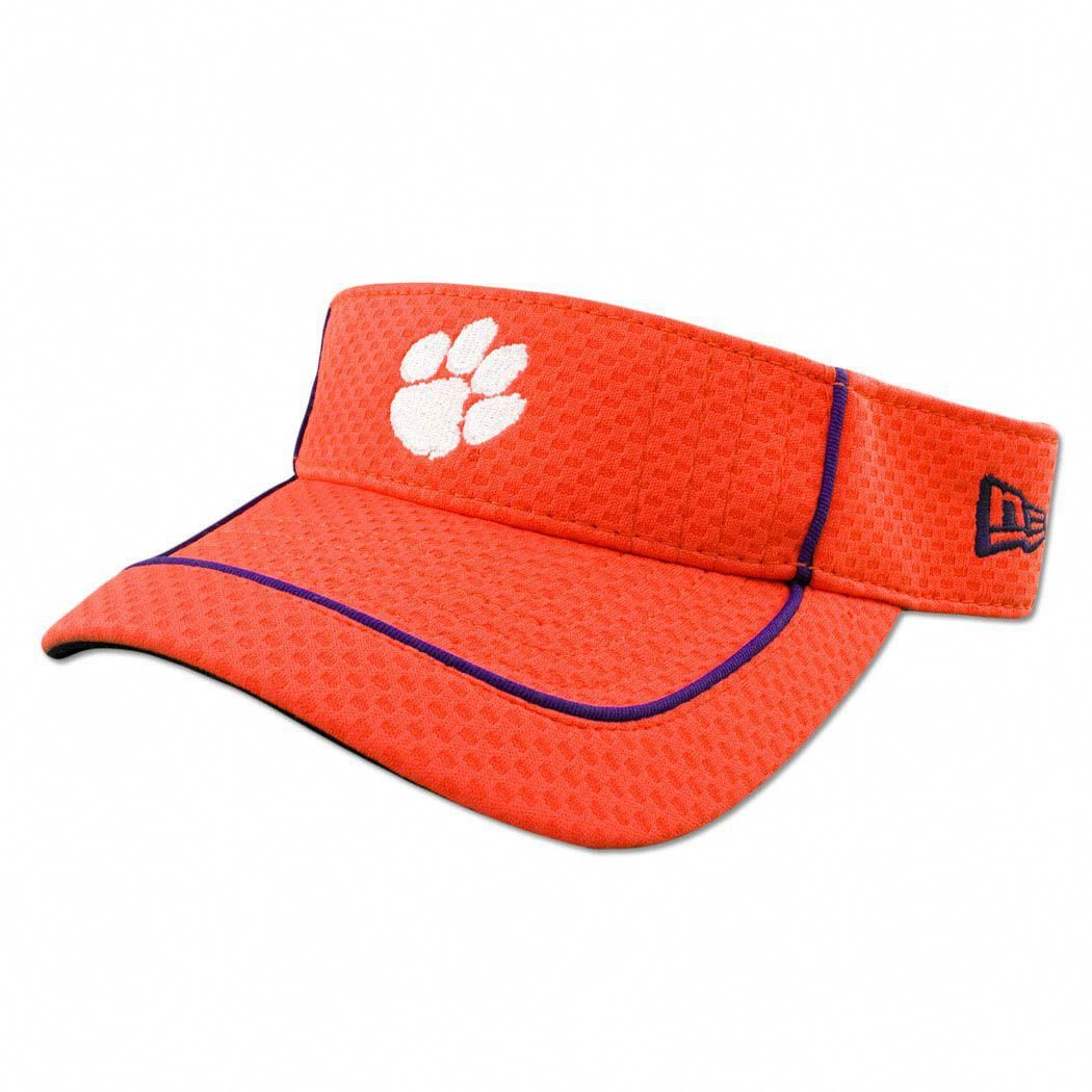 a62a0fe224b15 Clemson Tiger New Era Pipe Up Visor  clemsonbaseball
