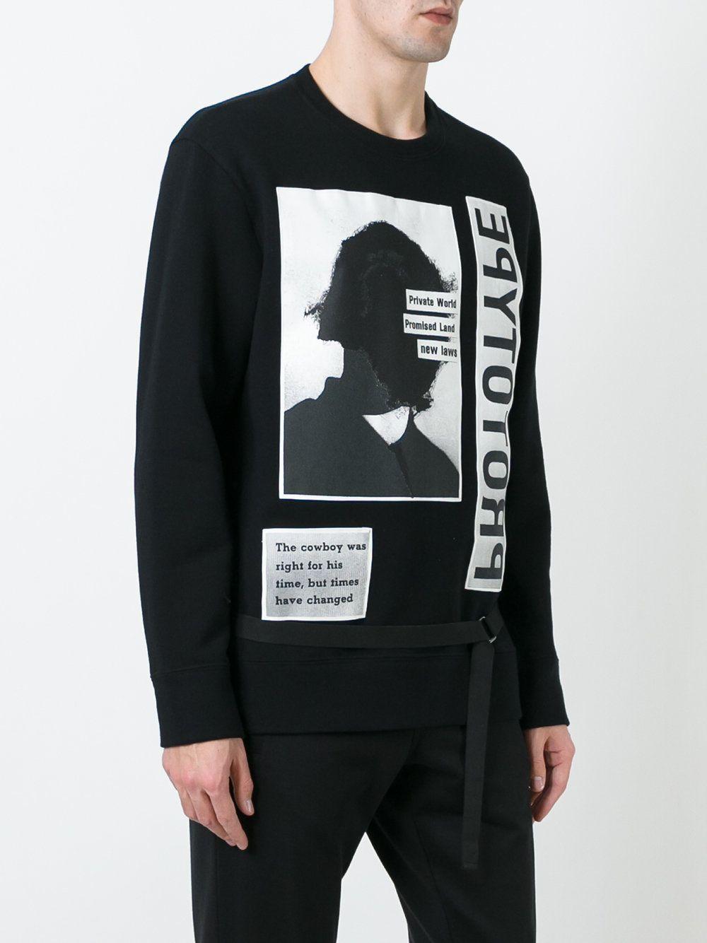 2da4aa44088a Helmut Lang Helmut Lang x Travis Scott prototype print sweatshirt ...