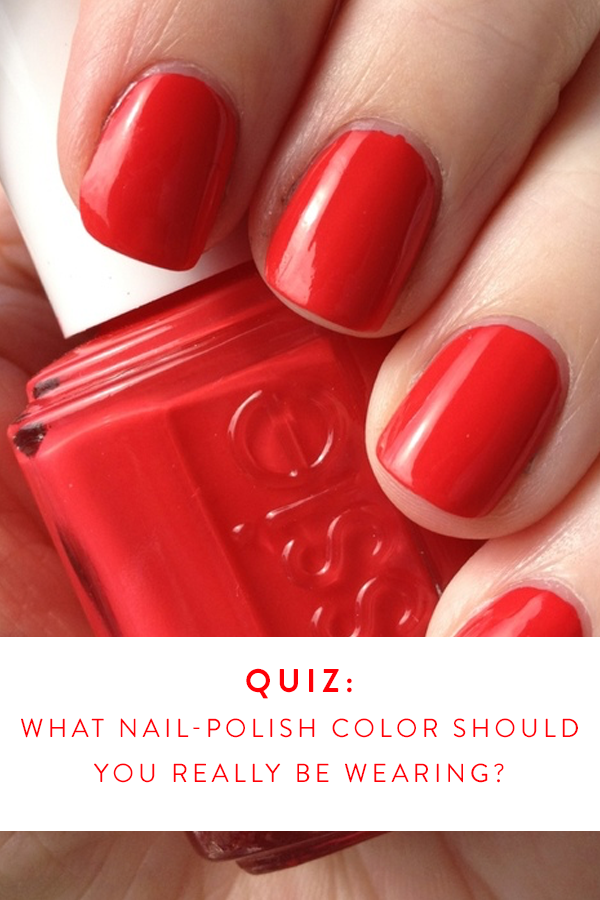 What Nail Polish Color Should You Really Be Wearing? | Nail polish ...