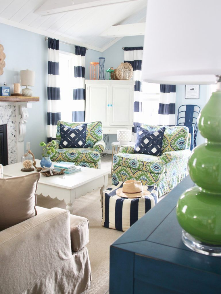 Home Design Ideas Colors: Making A Splash Down At The Lake With New Nautical Decor