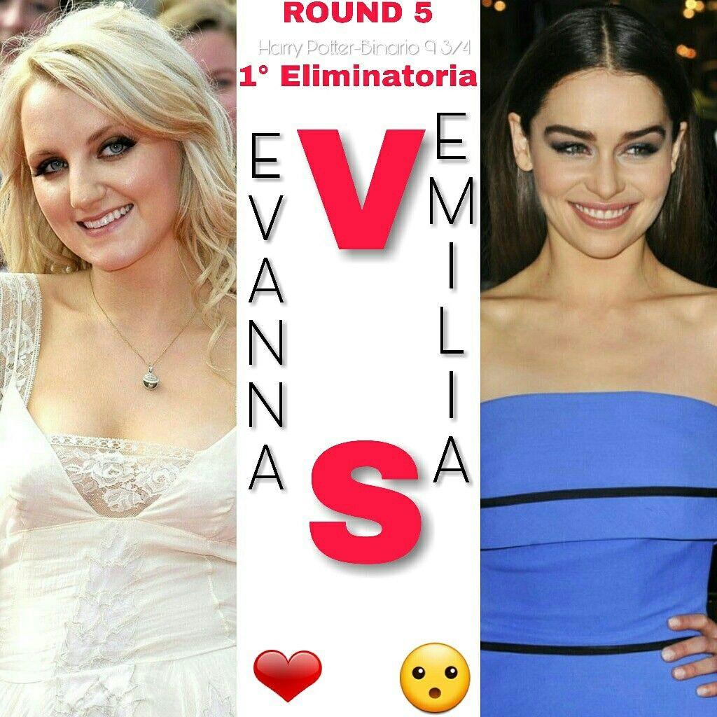 ROUND 5⚡ 1°Eliminatoria ⚡  #Evanna o #Emilia ⚡ A voi la scelta ⚡  ⚡Hermione⚡