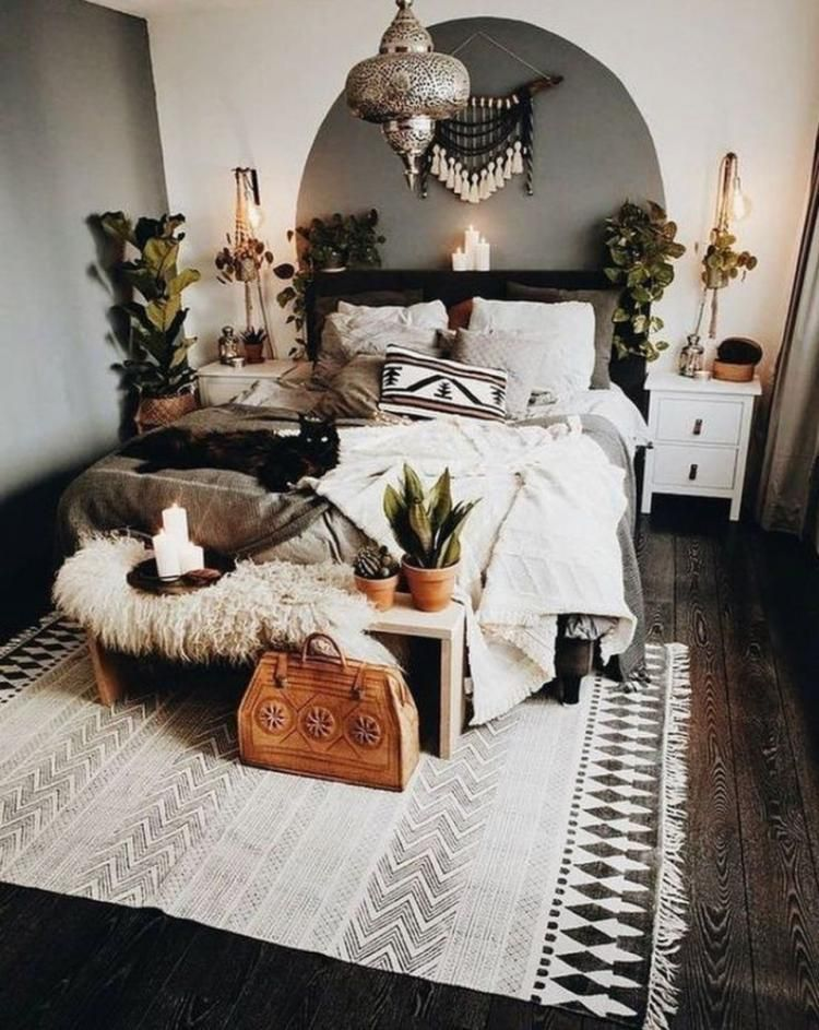 Beautiful Bohemian Bedroom Decor Ideas | Home bedroom, Bedroom ...