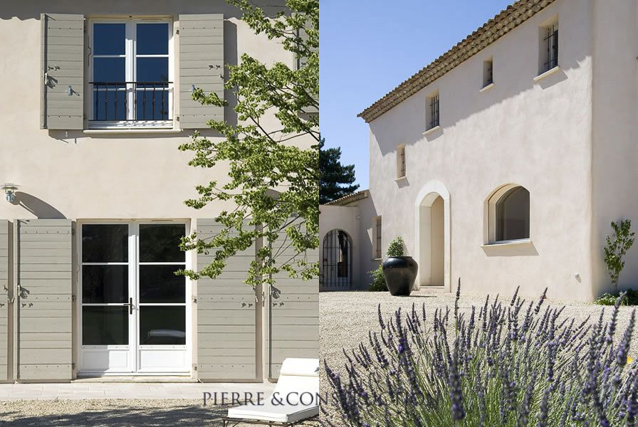 Maison traditionnelle proven ale jolie couleur de volet for Couleur facade provencale