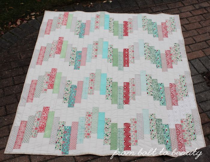 Jelly Roll Strips Quilting