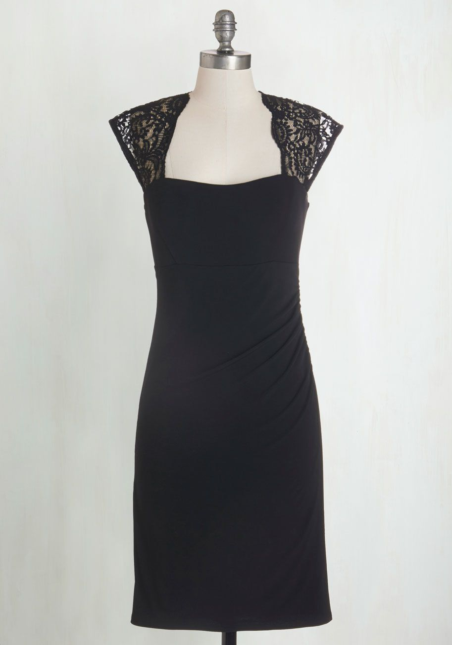 Awesome medium nwot black with lace yellow star modcloth