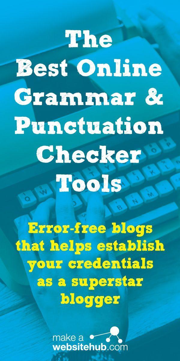 Best Free Grammar Checkers in 2020 Grammar, Grammar and