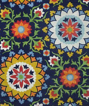 Richloom Cynthia Midnight Fabric - $20.5 | onlinefabricstore.net