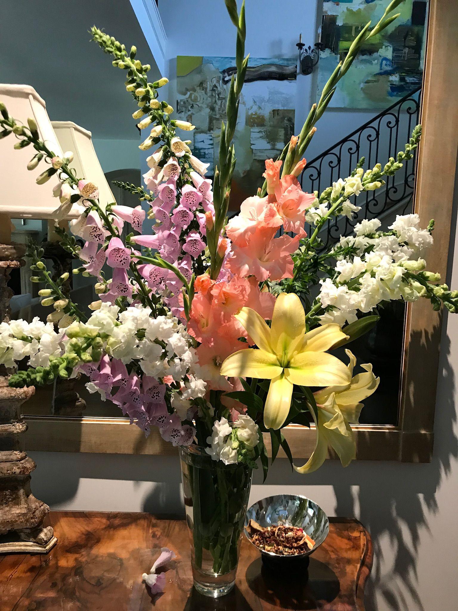 Just picked flower arrangements flowers my flower