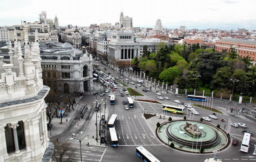 Fotos Vistas Desde Terraza Palacio Cibeles Viajar A Madrid