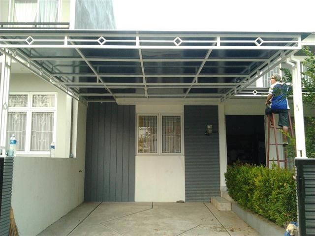 Contoh Baja Ringan Kanopi 38 Images Of A Minimalist Home Canopy Model Design