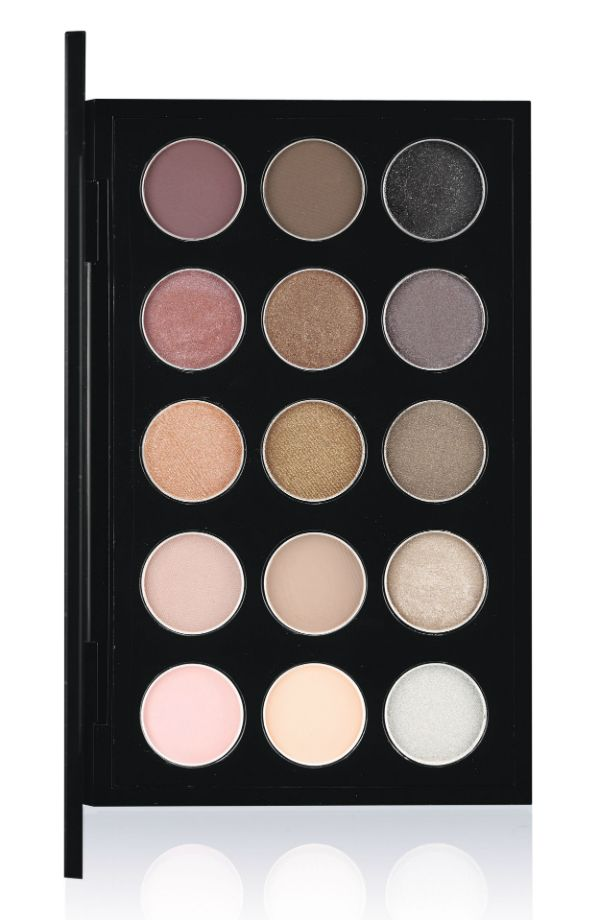 Mac Warm Neutral And Cool Neutral 15 Eyeshadow Palettes With