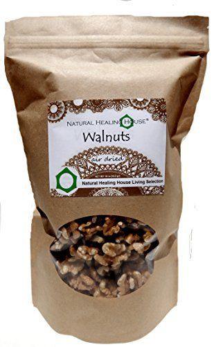 Natural Healing House Organic Raw Walnuts (halves and pieces) 16 oz - http://goodvibeorganics.com/natural-healing-house-organic-raw-walnuts-halves-and-pieces-16-oz/