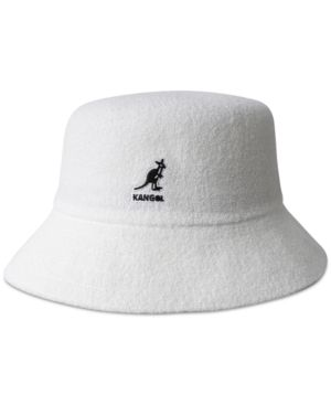 08aa5315d Kangol Men's Bermuda Terry Boucle Bucket Hat - White M | Products ...