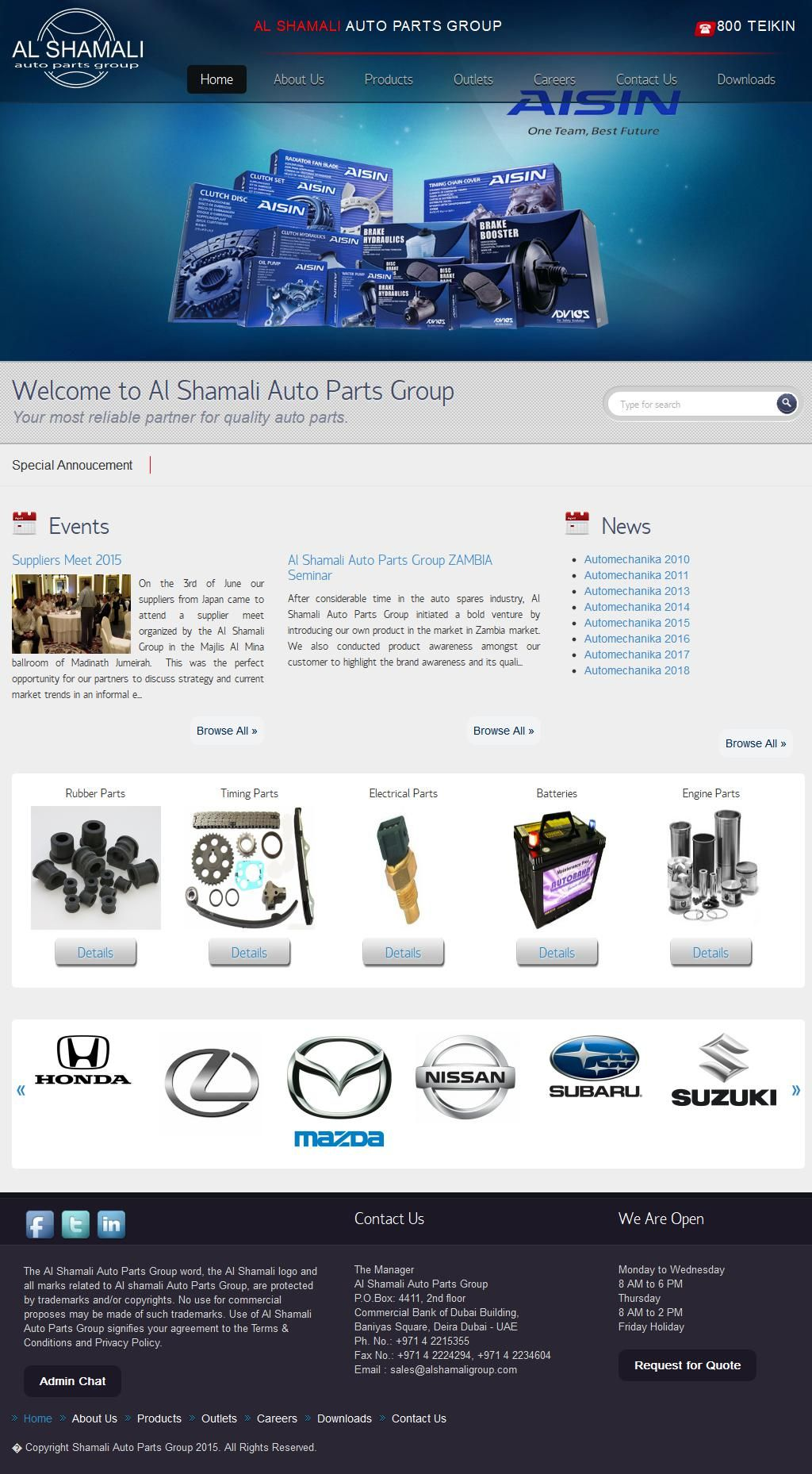 Century Spare Parts Trading Company, Llc 34, Al Borj
