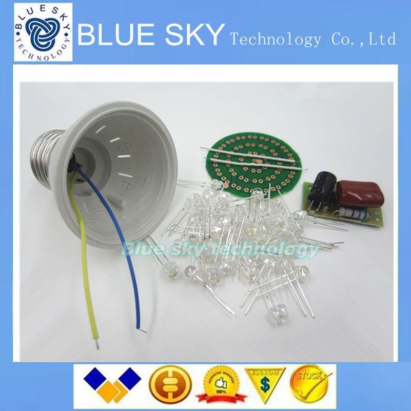 6V 5mm Double bleu clignotant led