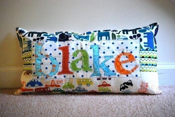 DIY: Applique, sew....need material, sewing machine, fusible web