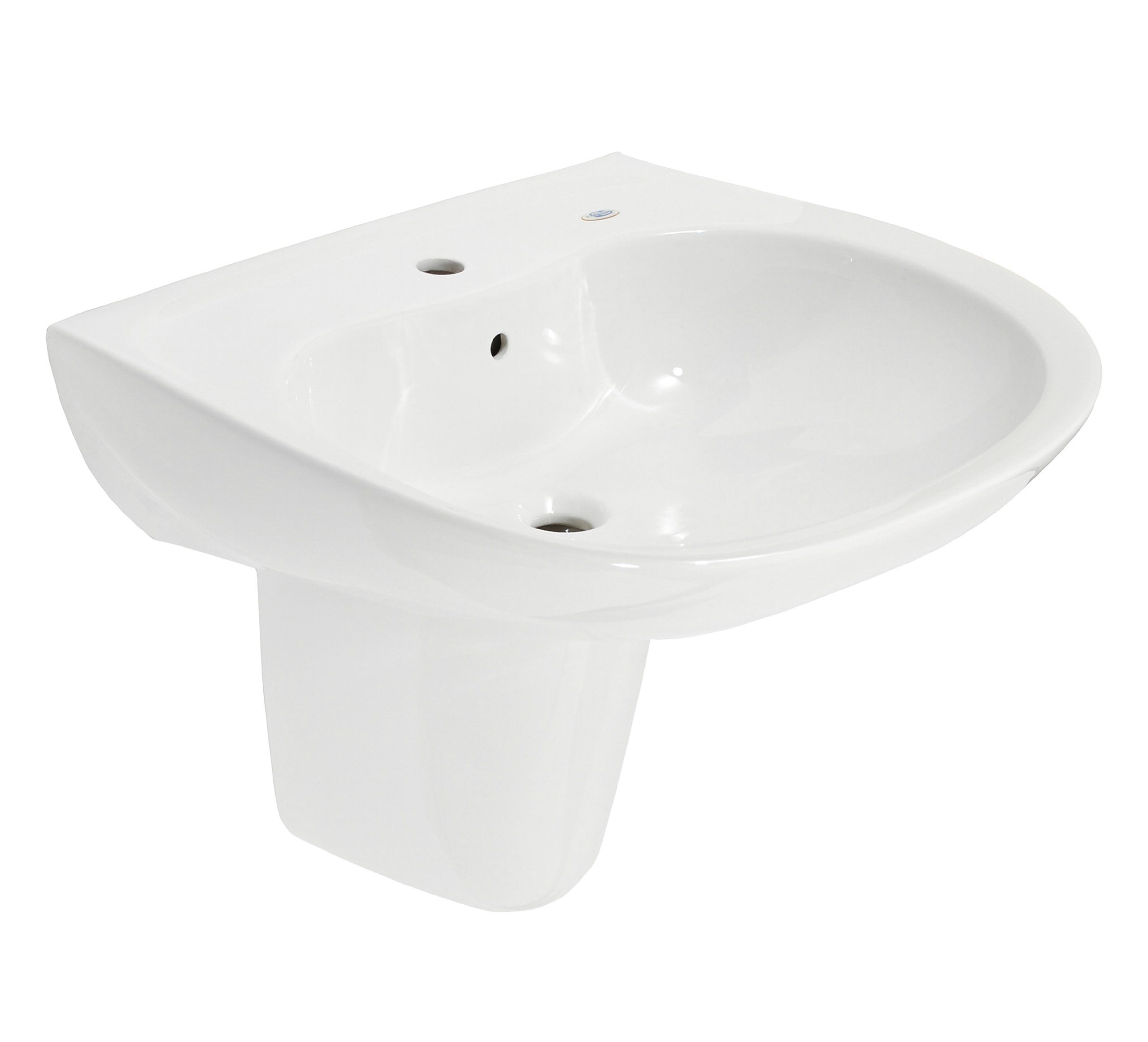 164 Toto Lht242g 01 Prominence Lavatory And Shroud With Single Hole Cotton White Wall Mounted Sinks Amazon Com Bathroom Remodel Wall Mounted Sink Sink Pedestal Sink