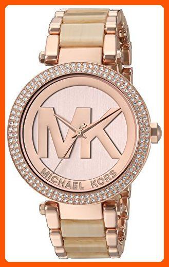 1d8c534b5f7a Michael Kors Women s  Parker  Quartz Stainless Steel Casual Watch ...