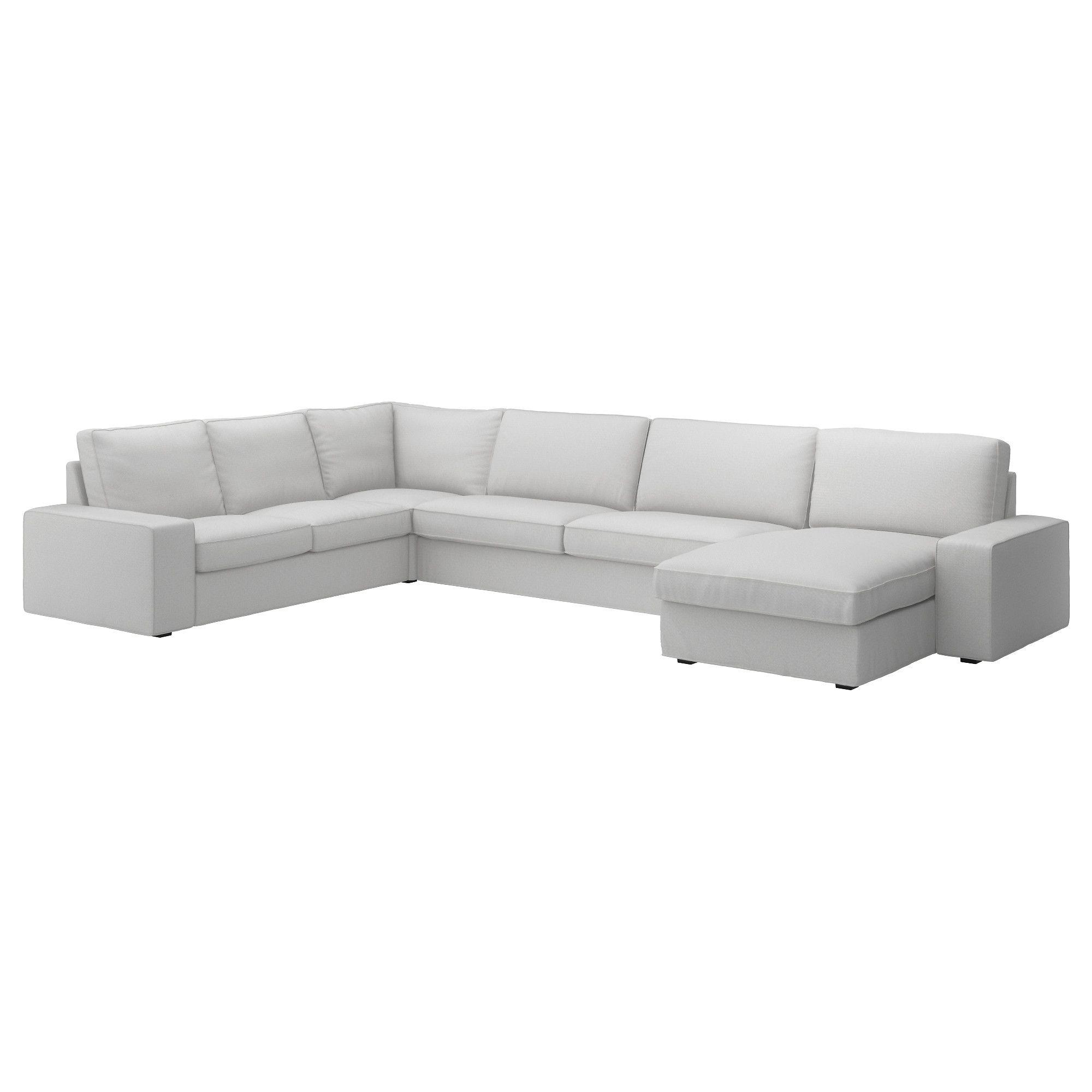 Kivik With Chaise Longue Ramna Light Grey Corner Sofa 6 Seat Ikea Ikea Sectional Grey Corner Sofa Kivik Sofa