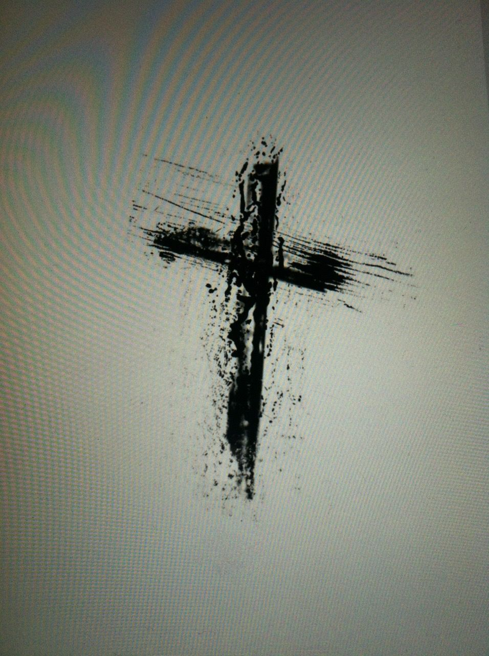 Pin On Crown Of Thorns With Cross Tattoo