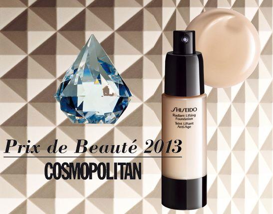#Shiseido Radiant Lifting Foundation gewinnt Prix de Beauté 2013!