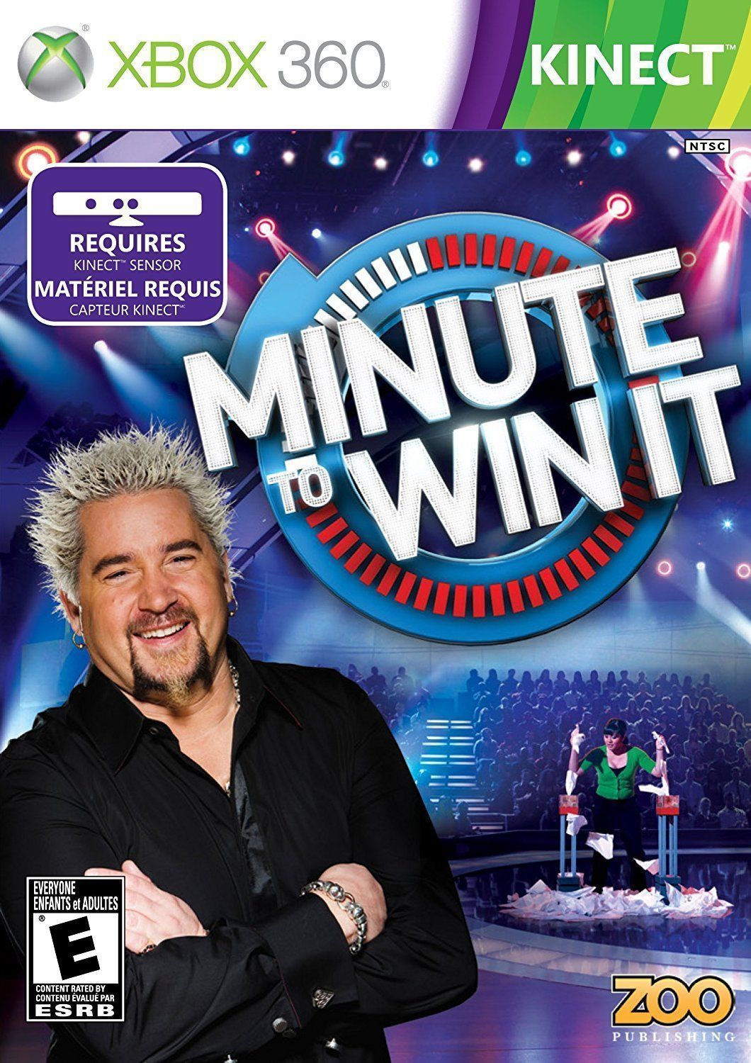 Minute To Win It Kinect Xbox 360 Video Games Pinterest Xbox