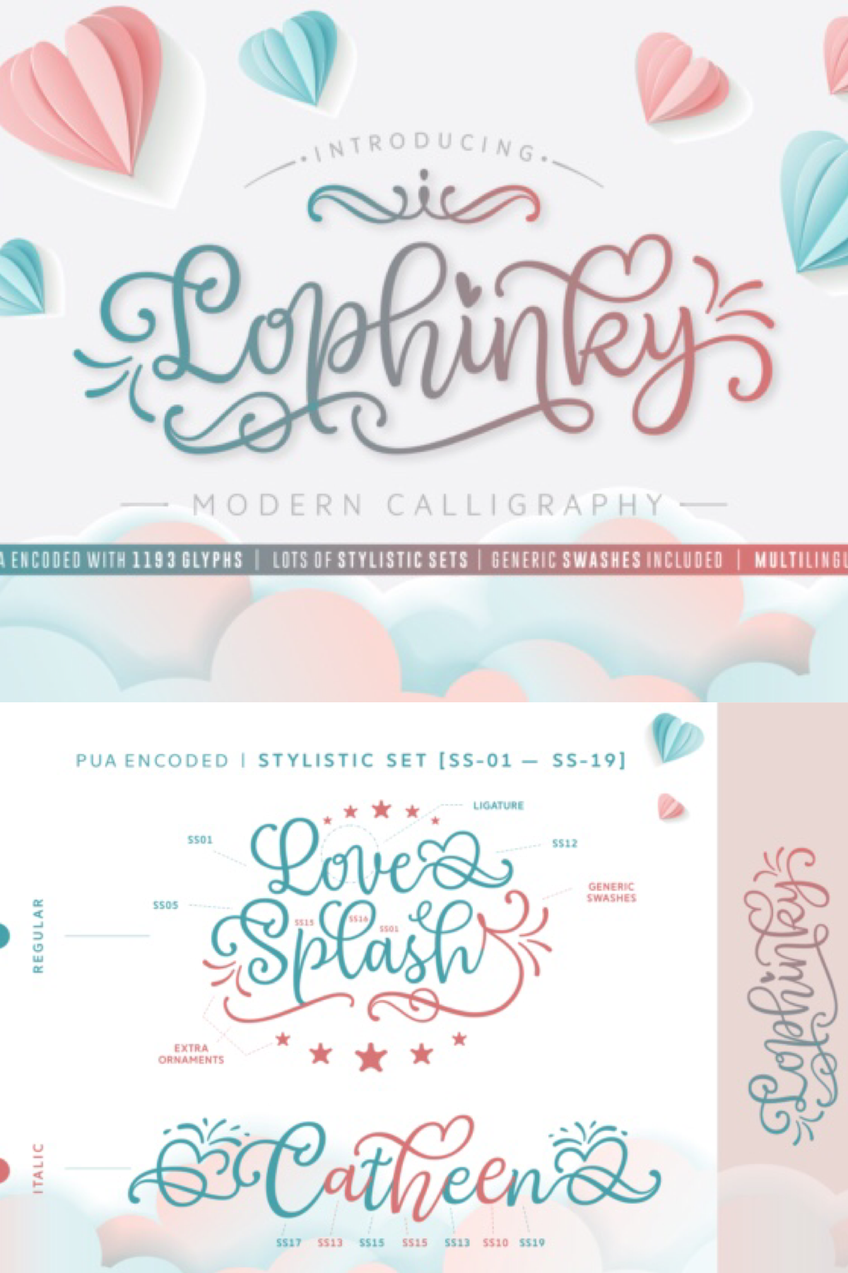 Lophinky (Font) by Situjuh Creative, Clip art freebies
