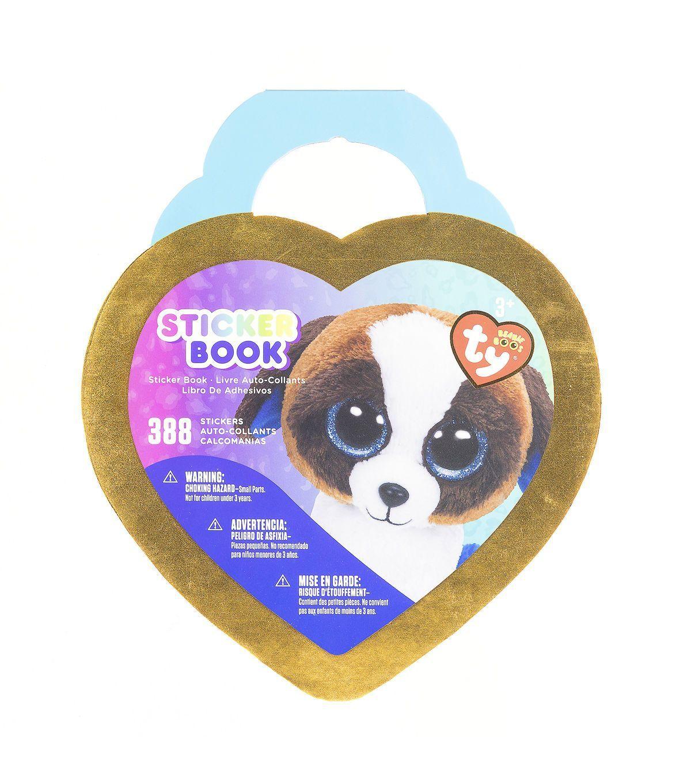 Ty Inc. Beanie Boos Duke™ The Dog 388 Pack Stickers Book