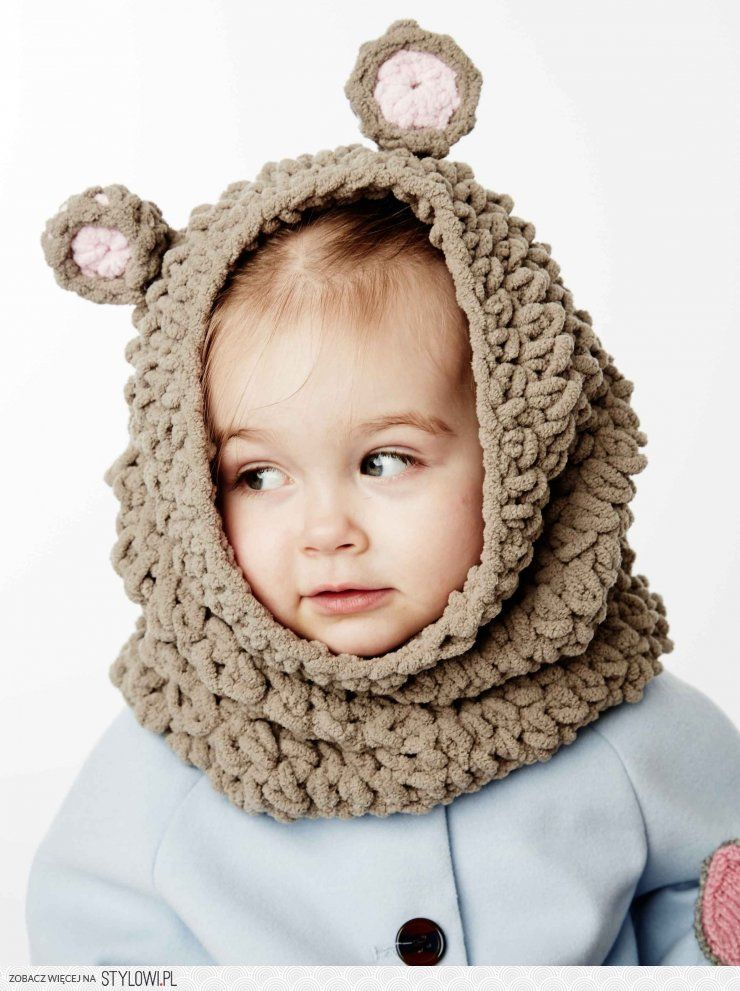 Mousie Snood - Crochet Patterns - Patterns | Yarnspir… na Stylowi.pl ...