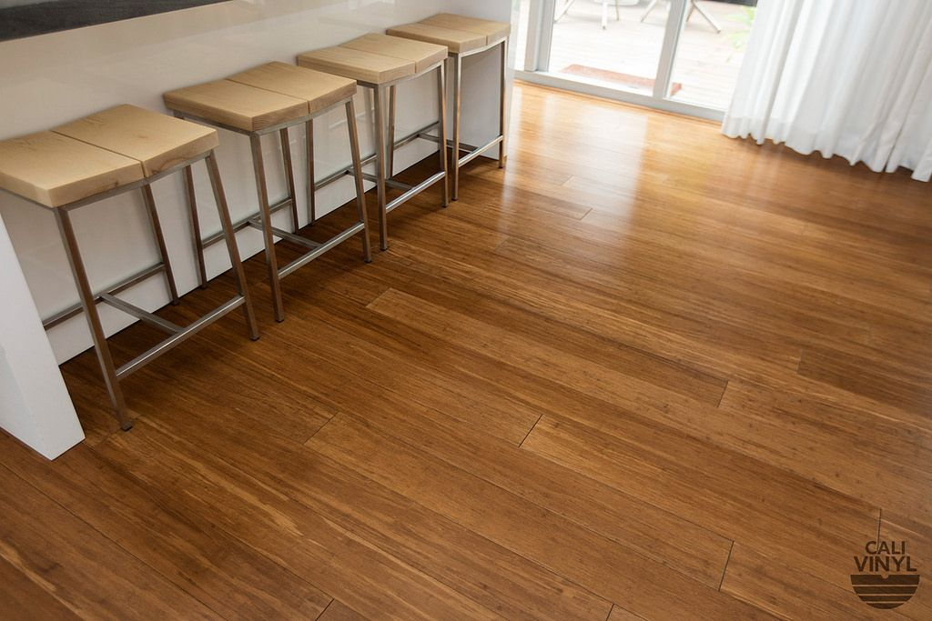 Luxury Vinyl Plank Flooring Sample in Java Brown by Cali