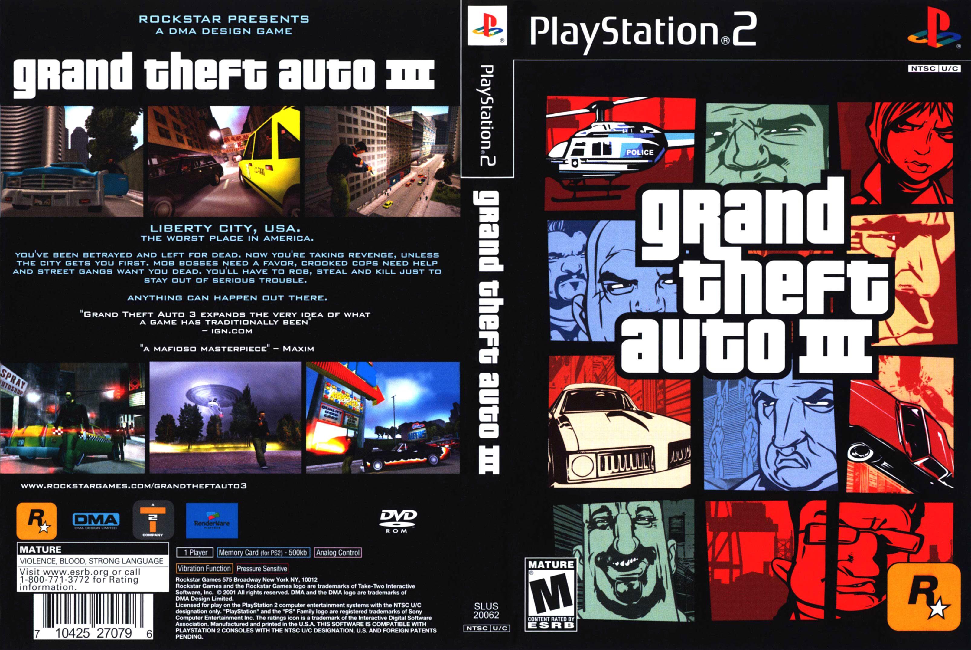 GTA 3 cover