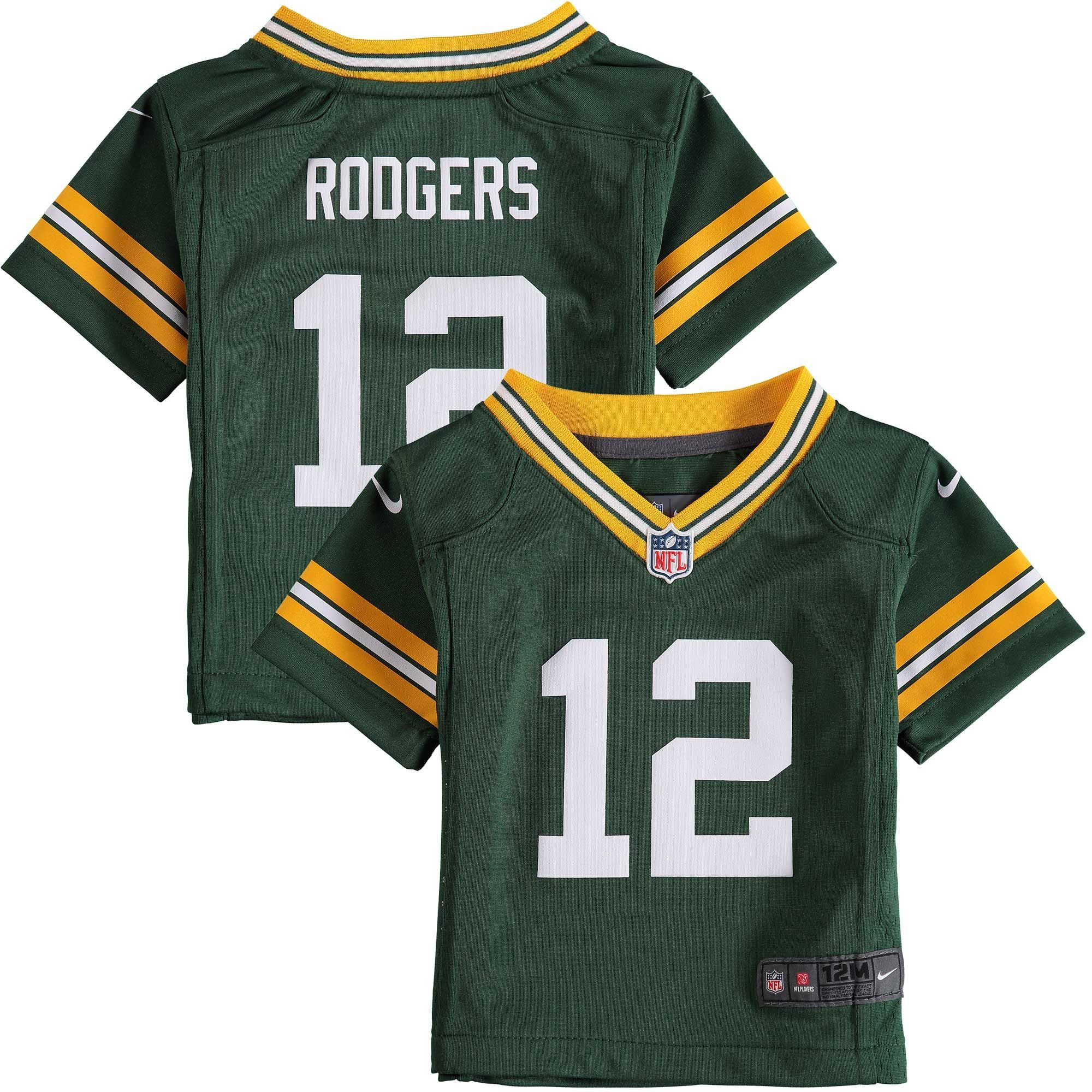 Aaron Rodgers Green Bay Packers Nike Infant Team Color Game Jersey Green Aaron Green Bay Packers Green Bay Packers Aaron Rodgers Green Bay Packers Jerseys