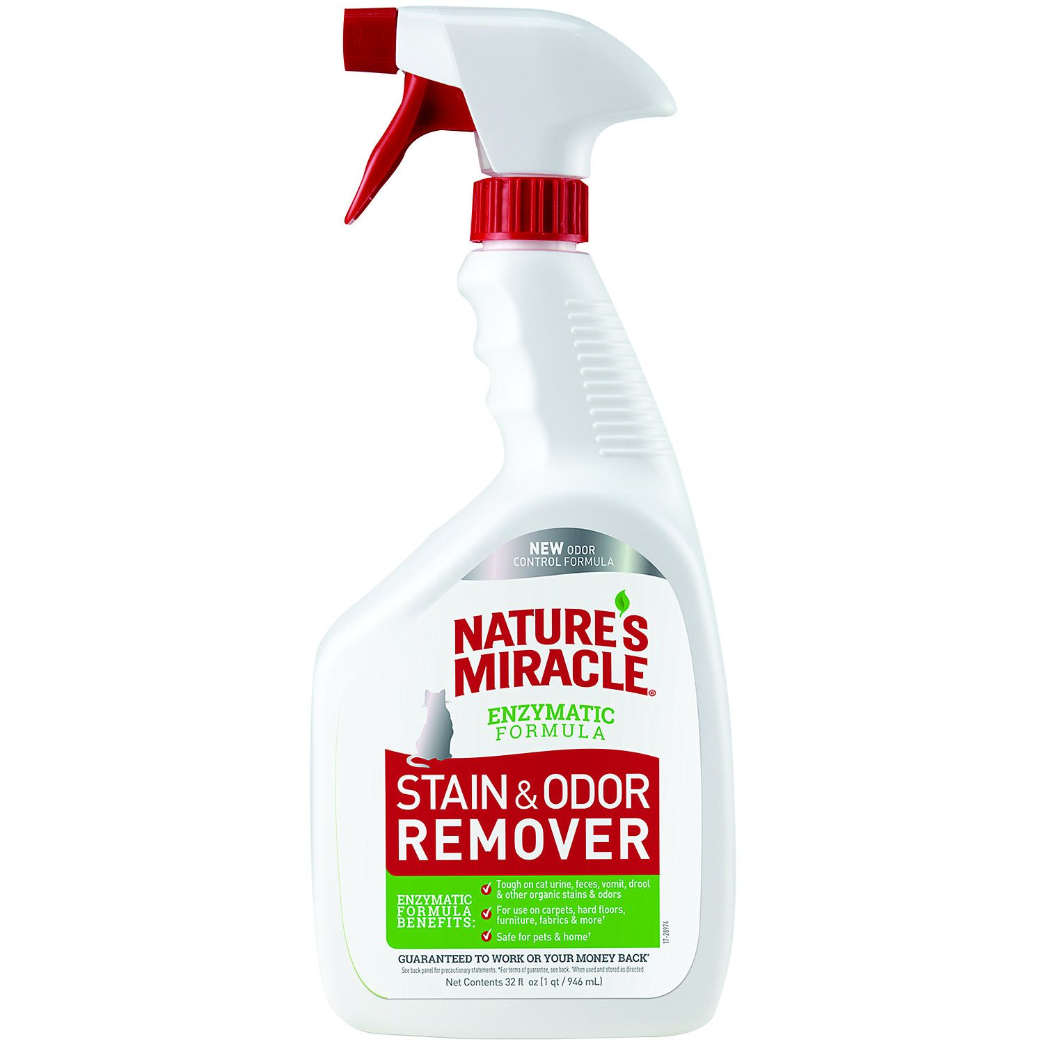 Nature's Miracle New Stain and Odor Remover Formula Spray