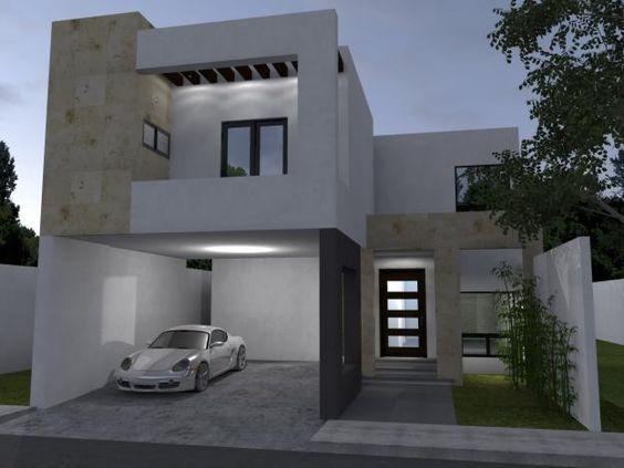 fachadas de casas minimalistas simples super modernas