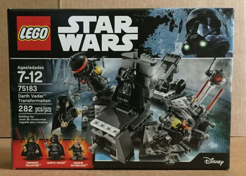 LEGO Star Wars 75183 Darth Vader Transformation INSTRUCTIONS ONLY