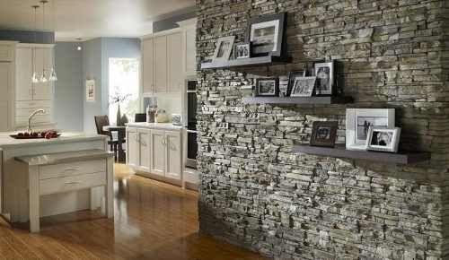 Revestimiento simil piedra para exterior e interior ventanas pinterest paredes decoradas Revestimiento piedra interior