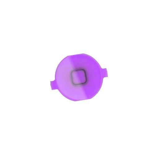 iPhone 4 Home Button Key - Purple