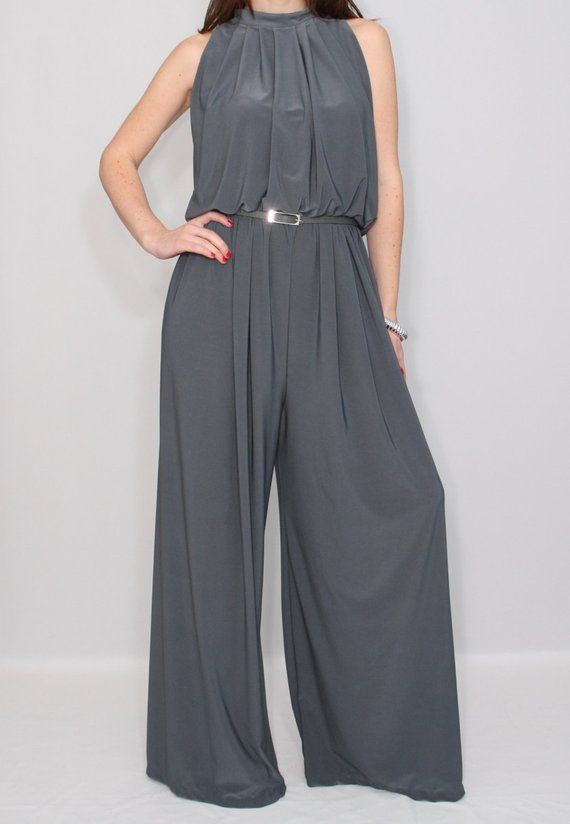 Gray jumpsuit women  Grey jumpsuit plus size jumpsuit wide leg jumpsuit women bridesmaid jumpsuit ch #bridesmaidjumpsuits Gray jumpsuit women  Grey jumpsuit plus size jumpsuit wide leg jumpsuit women bridesmaid jumpsuit ch #bridesmaidjumpsuits