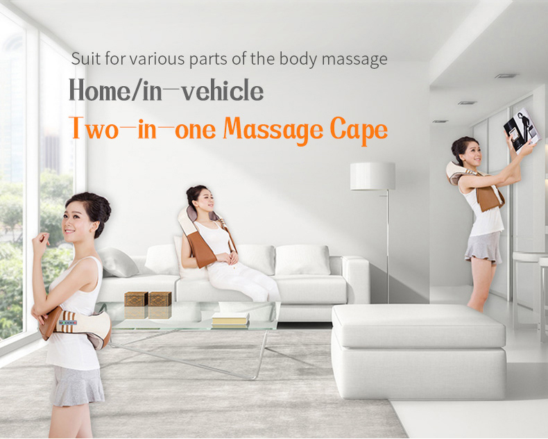 U Shape Electrical Shiatsu Massager
