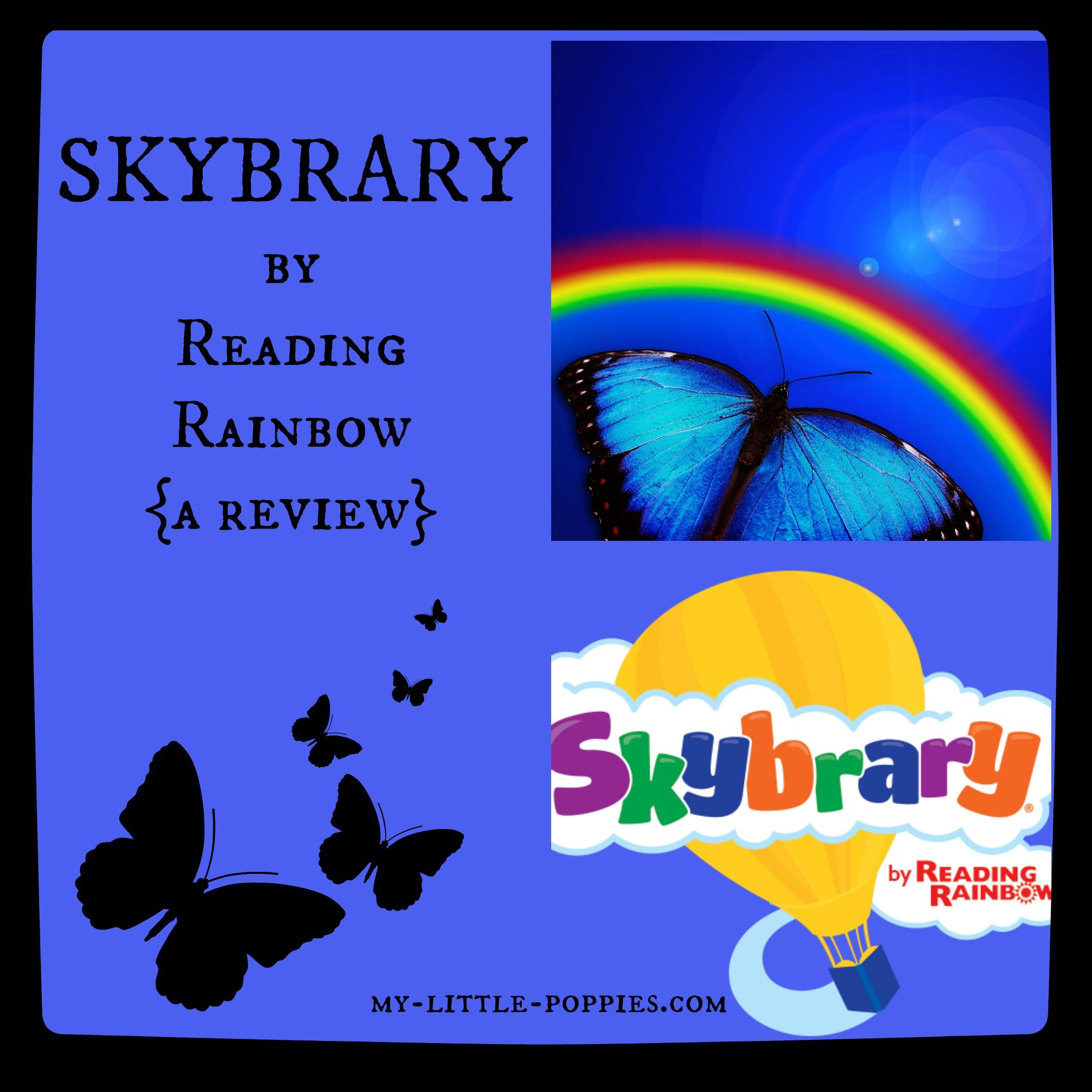 Skybrary By Reading Rainbow Review And A Giveaway My