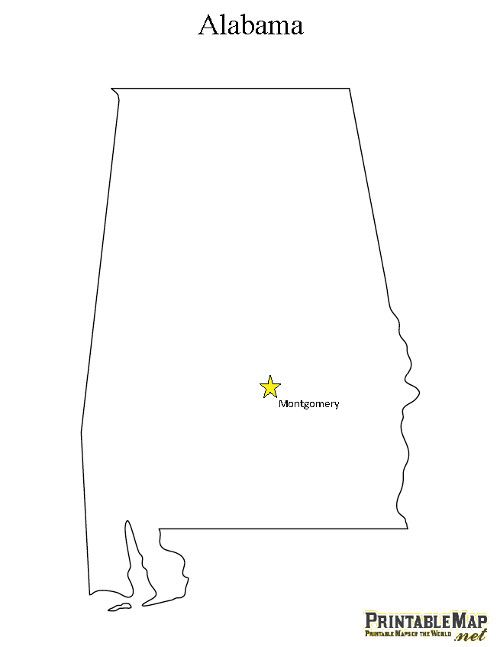picture relating to Printable Map of Alabama identified as Printable Region Cash Map of Alabama CC Cycle 3
