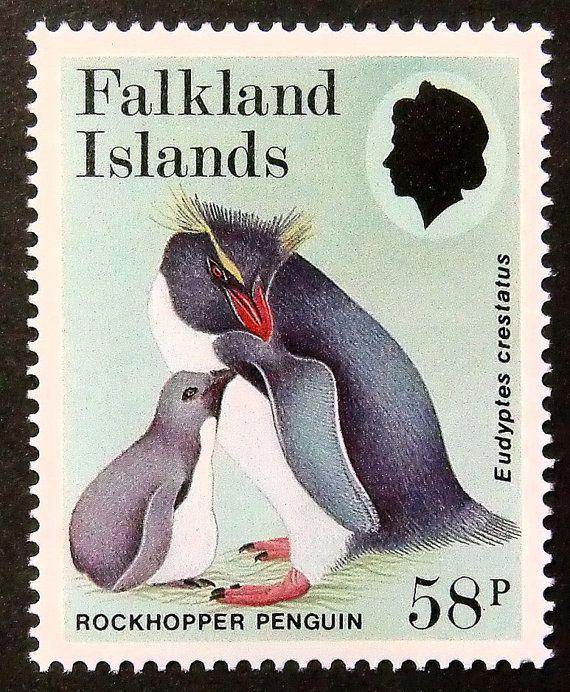 #RockhopperPenguin #Penguin #PassionGiftStampArt #Art