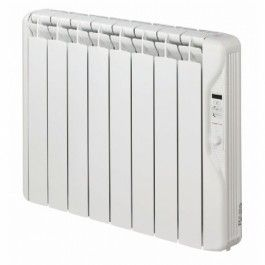 Elnur Oil Filled Electric Radiator With Digital Timer Eco Fluid Thermal Inertia Electric Radiators Oil Filled Radiator Radiators