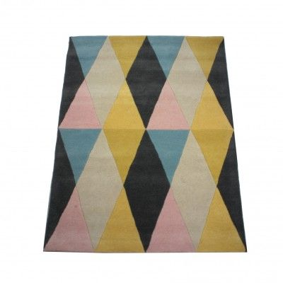 Tapis Rose in April circus rose/jaune/bleu - My Little Bazar ...