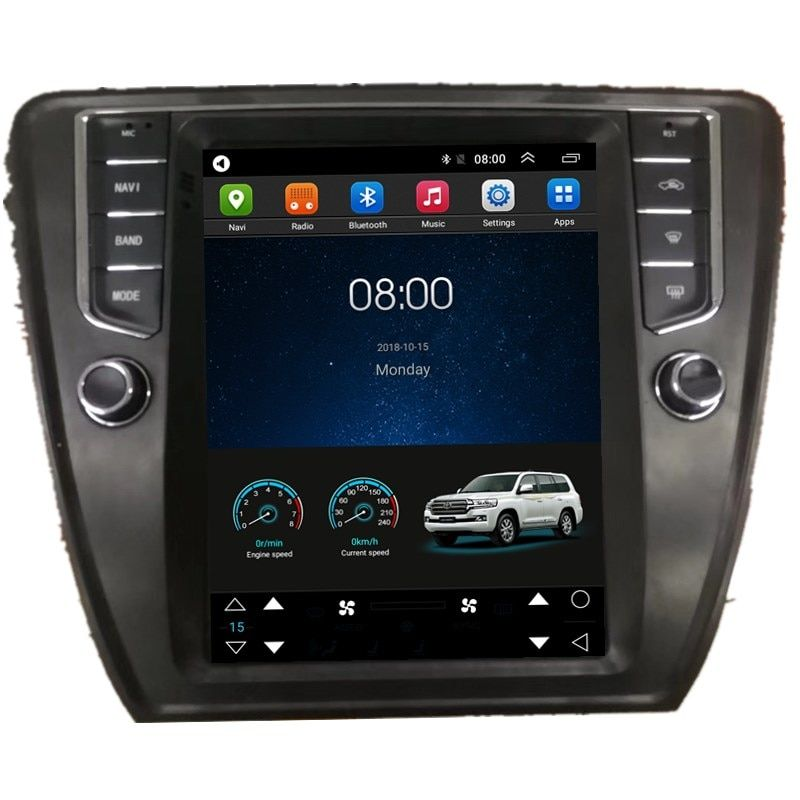 9 7 Tesla Vertical Screen Android Car Radio Audio Sat Nav Head