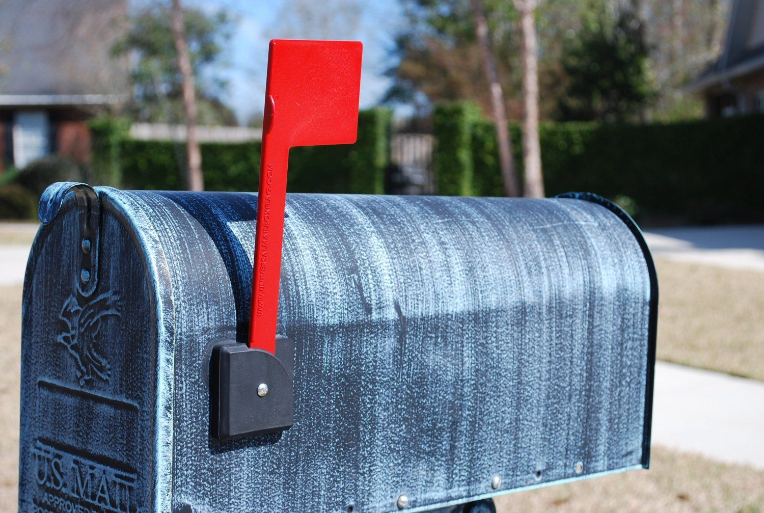 Universal Mailbox Flag Security Mailboxes Amazoncom Praxis