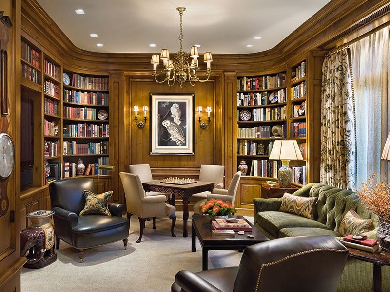 The Modern Den Your Ultimate Home Retreat  Christie's International Real Estate is part of Home libraries - In the 21st century, a den can be all things to all people   from a hightech social space to the exclusive domain of the lady of the house