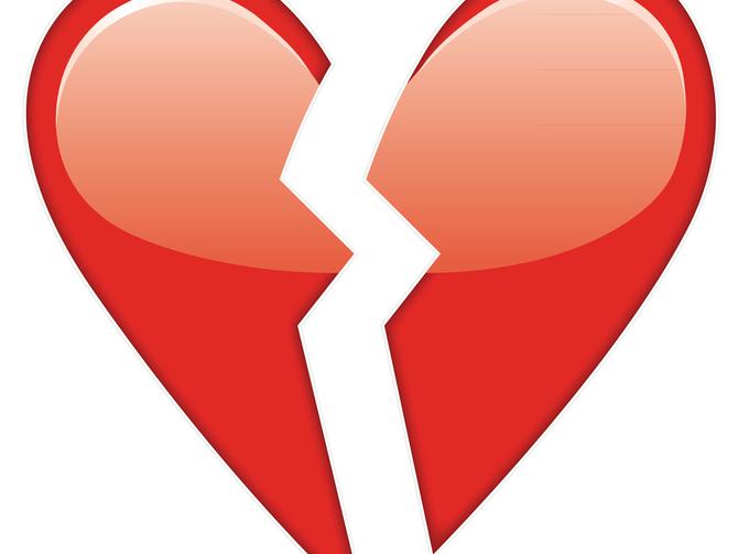 Broken Heart Emoji Png 670 503 Broken Heart Emoji Heart Emoji Broken Heart