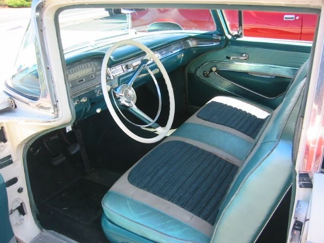 1959 Ford Fairlane Galaxie 500 Interior   Note The Clutch