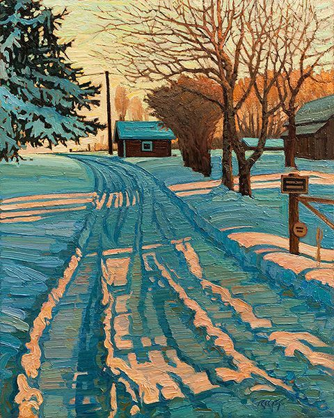 """  Ken Faulks - Visual Artist - Canadian Plein Air Painter """
